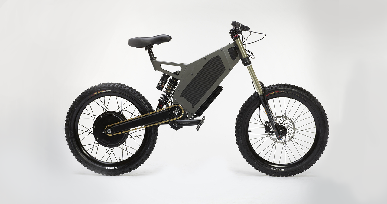 the stealth bomber electric dirt bike hits 50mphebikesolutions com. Black Bedroom Furniture Sets. Home Design Ideas